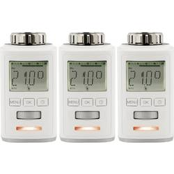 Radiátorová termostatická hlavica Sygonix HT100 700100416, 8 do 28 °C, sada 3 ks