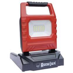 Stavební reflektor AccuLux 1500 LED 447441, 15 W, červená/černá