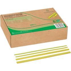 Sada smršťovacích bužírek Quadrios 19011CA097 2:1, zelená, žlutá, 200 díly
