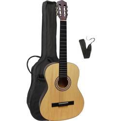 Sada koncertní kytary MSA Musikinstrumente MI39 N Set 4/4 přírodní
