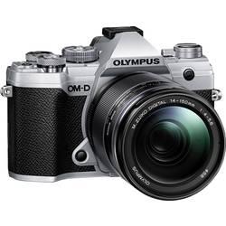 Systémový fotoaparát Olympus E-M5 Mark III 14-150 Kit, 20.4 MPix, stříbrná, černá