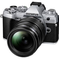 Systémový fotoaparát Olympus E-M5 Mark III 1240 Kit, 20.4 MPix, stříbrná