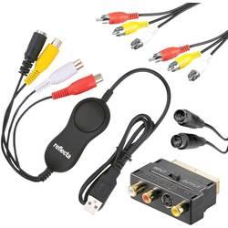 USB převodník videa z analogového do digitálního záznamu, Reflecta Video Capture Set USB 66129