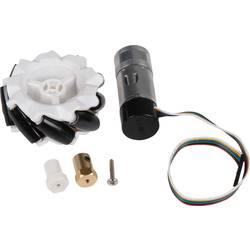 Robotické dvoukolí Joy-it Omni Wheels Kit com-motor06