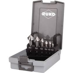 Sada záhlubníků 6dílná HSS RUKO 102152RO, válcová stopka, 6.3 mm, 8.3 mm, 10.4 mm, 12.4 mm, 16.5 mm, 20.5 mm, 1 sada
