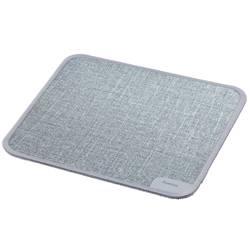"""Podložka pod myš Hama """"Textildesign"""", 190 x 190 x 3 , šedá"""