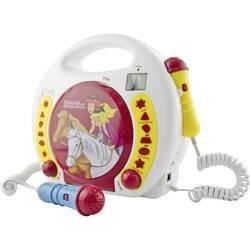 Dětský CD přehrávač X4 Tech CD, SD, USB včetně mikrofonu, vč. karaoke