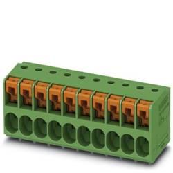 Svorkovnice pro tiskárny Phoenix Contact TDPT 2,5/ 3-SP-5,08 1017504, 4 mm², Pólů 3, zelená, 50 ks