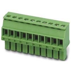 Zásuvkový konektor na kabel Phoenix Contact MCVW 1,5/15-ST-3,81 1827101, 57.94 mm, pólů 15, rozteč 3.81 mm, 1 ks