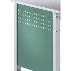 Manuflex ZB3350.0001 Boční panel pro univerzální standardní pracovní stoly, BxH 606 x 606 mm, pro stolní hloubka 800 mm