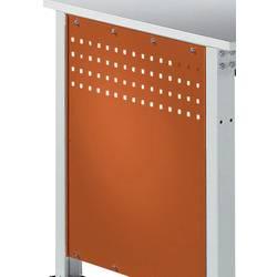 Manuflex ZB3350.2001 Boční panel pro univerzální standardní pracovní stoly, BxH 606 x 606 mm, pro stolní hloubka 800 mm