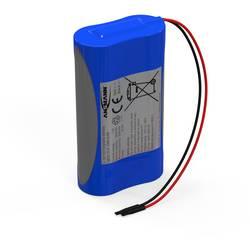 Akupack - sada nabíjacích batérií Li-Ion akumulátor 2 18650 s káblom Ansmann 2447-3030-03, 2600 mAh, 7.4 V