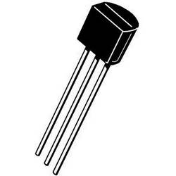 Tranzistor JFET ON Semiconductor J113 Trans JFET N-CH 2mA 3-Pin TO-92 N-kanál, TO-92