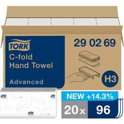 Papírové utěrky, skládané TORK 290269