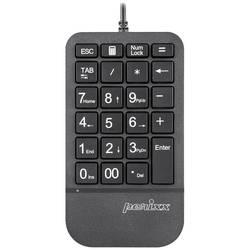 Číselná klávesnice Perixx PERIPAD-205 tlačítka multimédií černá