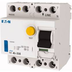 Proudový chránič Eaton 300300, 40 A 0.3 A 230 V, 400 V zbytkový proudový chránič 4pólový