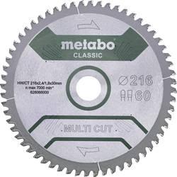 Pilový list MULTI CUT CLASSIC Metabo 628667000 Průměr: 305 mm Počet zubů (na palec): 80 Tloušťka:2.2 mm