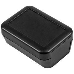 Plastová krabička Hammond Electronics 1552D1BK, 70 x 50 x 30 mm, plast ABS , IP54, černá, 1 ks