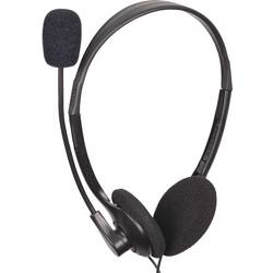 Headset 2x 3,5 mm jack (mic./slu.) na kabel Gembird MHS-123 na uši