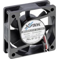 Axiální ventilátor X-Fan RDH6025B2 RDH6025B2 24V, 24 V/DC, 28 dB, (d x š x v) 60 x 60 x 25 mm