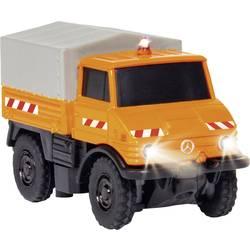 RC model auta záchranný vůz Carson Modellsport MB Unimog U400 Kommunal 504125, 1:87