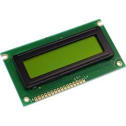 LCD displej Display Elektronik DEM16217SYH, 16 x 2 Pixel, (š x v x h) 84 x 44 x 6.5 mm, žlutozelená