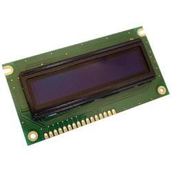 OLED modul Display Elektronik DEP16202-Y DEP16202-Y, DEP16202-Y, 16 x 2 pix, (š x v x h) 84 x 10 x 44 mm, žlutá, černá