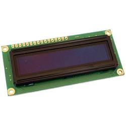 OLED modul Display Elektronik DEP16201-Y DEP16201-Y, DEP16201-Y, 16 x 2 pix, (š x v x h) 80 x 10 x 36 mm, žlutá, černá