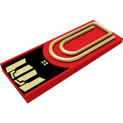 USB flash disk Xlyne Clip/Me AutoID_3167510, 8 GB, USB 2.0, červená