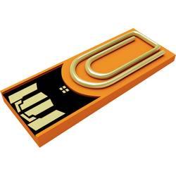 USB flash disk Xlyne Clip/Me AutoID_3168970, 8 GB, USB 2.0, oranžová