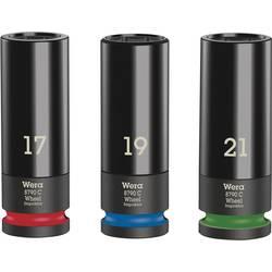 """Sada nástavců pro nástrčný klíč Wera Wheel Impaktor C Set 1, 17 mm, 19 mm, 21 mm, 1/2"""" , 3dílná 05004595001"""