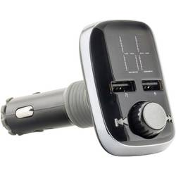 FM vysílač Caliber Audio Technology PMT560BT, vč. handsfree, s MP3 přehrávačem, dálkové ovládání, se slotem na kartu