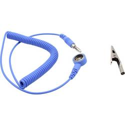 ESD zemnicí kabel Quadrios 1903EC013, 1.80 m