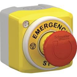 Tlačítko nouzového vypínače Schneider Electric XALK178W3B140G, v pouzdře, 1 spínací kontakt, 2 rozpínací kontakty, IP66, IP67, IP69 , IP69K, 1 ks