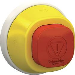 Tlačítko nouzového vypínače Schneider Electric ZB5AS84W2B, 24 V, IP66, IP67, IP69 , IP69K, 1 ks