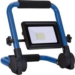 LED stavební reflektor as - Schwabe LED-Mobil-Strahler 20W Optiline 46340, 20 W, modrá, černá