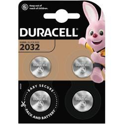 Knoflíkový článek CR 2032 lithiová Duracell Elektro 2032 220 mAh 3 V 4 ks