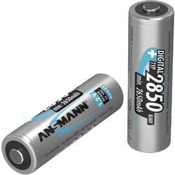 Tužkový akumulátor typu AA Ni-MH Ansmann Digital HR06 5035082, 2650 mAh, 1.2 V, 2 ks