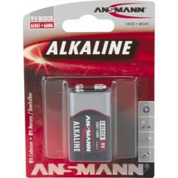 Baterie 9 V alkalicko-manganová Ansmann 6LR61 Red-Line 9 V 1 ks