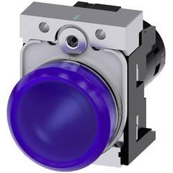 Světelný hlásič Siemens 3SU1251-6AB50-1AA0, Vysoký lesk , 24 V, modrá, 1 ks