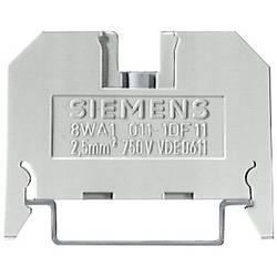 Průchodková svorka šroubovací Siemens 8WA1011-1DF11, béžová, 1 ks