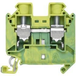 PE průchodková svorka šroubovací Siemens 8WH1000-0CK07, zelenožlutá, 1 ks