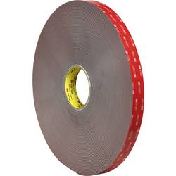 Oboustranná lepicí páska 3M 49912516 7000072533, (d x š) 5.5 m x 19 mm, šedá, 5.5 m