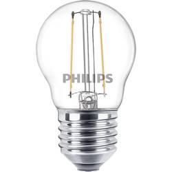 LED žárovka Philips Lighting 76329900 230 V, E27, 2 W = 25 W, teplá bílá, A++ (A++ - E), kapkovitý tvar, 1 ks