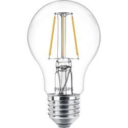 LED žárovka Philips Lighting 76199800 230 V, E27, 4.3 W = 40 W, teplá bílá, A++ (A++ - E), tvar žárovky, 1 ks