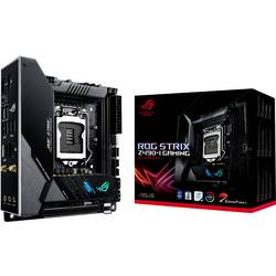 Základní deska Asus ROG STRIX Z490-I GAMING Socket Intel® 1200 Tvarový faktor Mini-ITX Čipová sada základní desky Intel® Z490