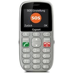 Gigaset GL390 telefon pro seniory stříbrná