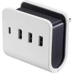 USB nabíječka VOLTCRAFT VC-11374055, nabíjecí proud 4.8 A, bílá, černá
