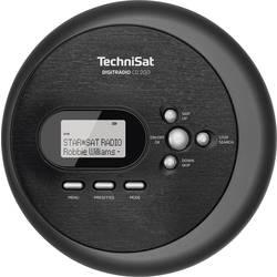 Přenosný CD přehrávač Discman TechniSat DIGITRADIO CD 2GO, MP3, černá