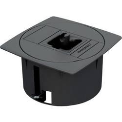 Prázdné pouzdro pro podlahovou montáž IB Connect 46100002/3 šedá, 1 ks